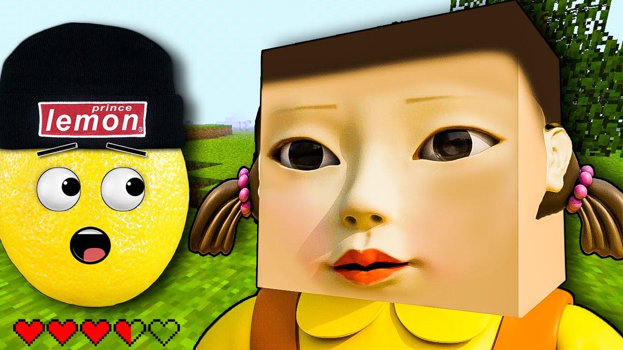 НАШЕЛ СПАВН КУКЛЫ ИЗ ИГРЫ В КАЛЬМАРА В МАЙНКРАФТ! SQUID GAME Анимация эйсипи мультик Нубастер Play