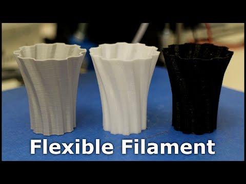 3D Printer - Flexible Filaments