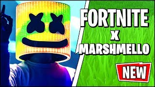 *NEW* Fortnite X Marhmello - THE BIGGEST COLLAB CONFIRMED (Skins, LTM, Live Event & Scoped Revolver)