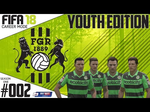 Fifa 18 Career Mode  - Youth Edition - Forest Green Rovers - EP 2