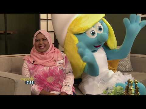 International Day of Happiness – UNICEF & Smurfette