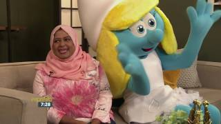 International Day of Happiness – UNICEF & Smurfette