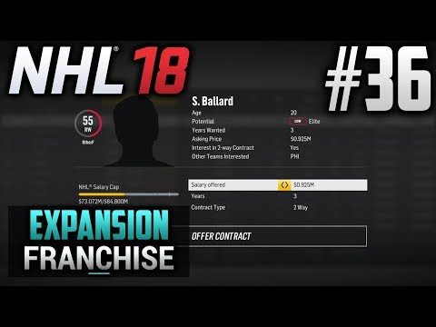 NHL 18 Expansion Franchise | Quebec Dorsals | EP36 | LANDING TWO UNSIGNED ELITES (S3 OFFSEASON)