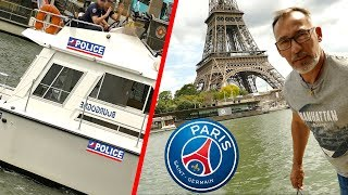 PARIS : JE TROUVE UN BOUT DE LA TOUR EIFFEL DANS LA SEINE CHRISDETEK PECHE A L'AIMANT #PSG