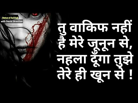 Killer High Attitude Whatsapp Hindi Status With David Direction