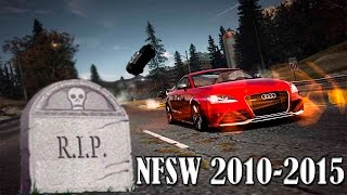 HOMENAJE DE DESPEDIDA AL JUEGO NEED FOR SPEED WORLD RIP 2010-2015