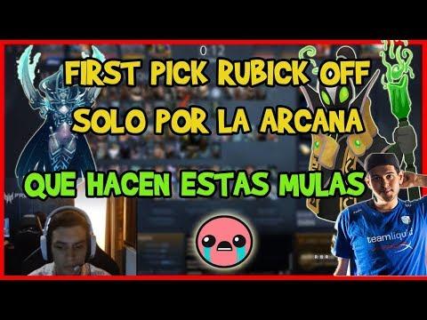 MATTHEW RENIEGA PORQUE SACAN RUBICK OFF!! | DOTA 2