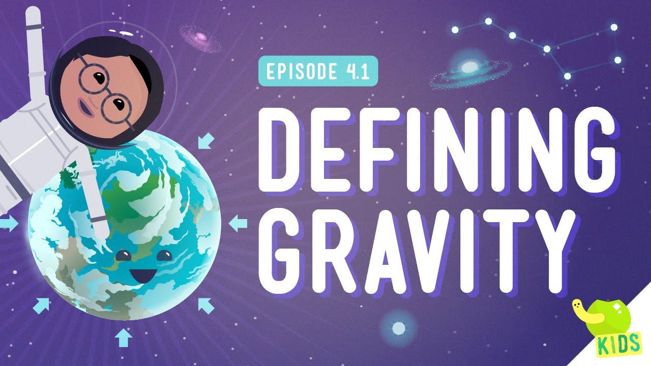 Defining Gravity Crash Course Kids 41 Youtube Drawing Force Diagrams