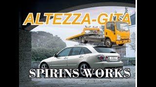 видео Обзор автомобиля Toyota Altezza Wagon, 2001