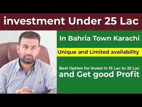 Invest under 15 to 25 lacs in bahria  town Karachi _ Check Best investment plan Salaam Estate