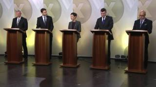 Débat des candidats à la direction du Parti progressiste-conservateur du Nouveau-Brunswick