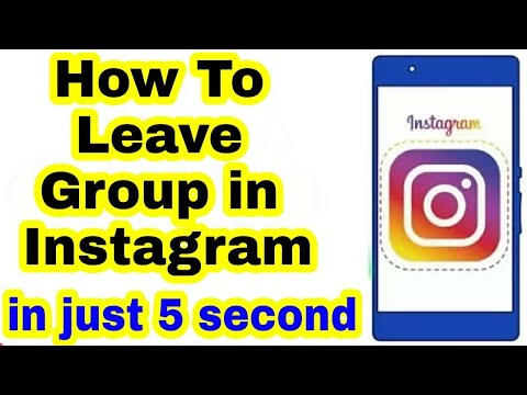 How to remove yourself from instagram group chat