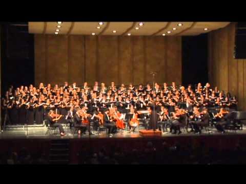 Zadok the Priest, UCLA, Rebecca Lord, Conductor, 2011