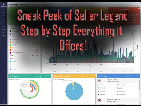 Seller Legend Review - Amazon Sales Tracking Software and PPC - YouTube
