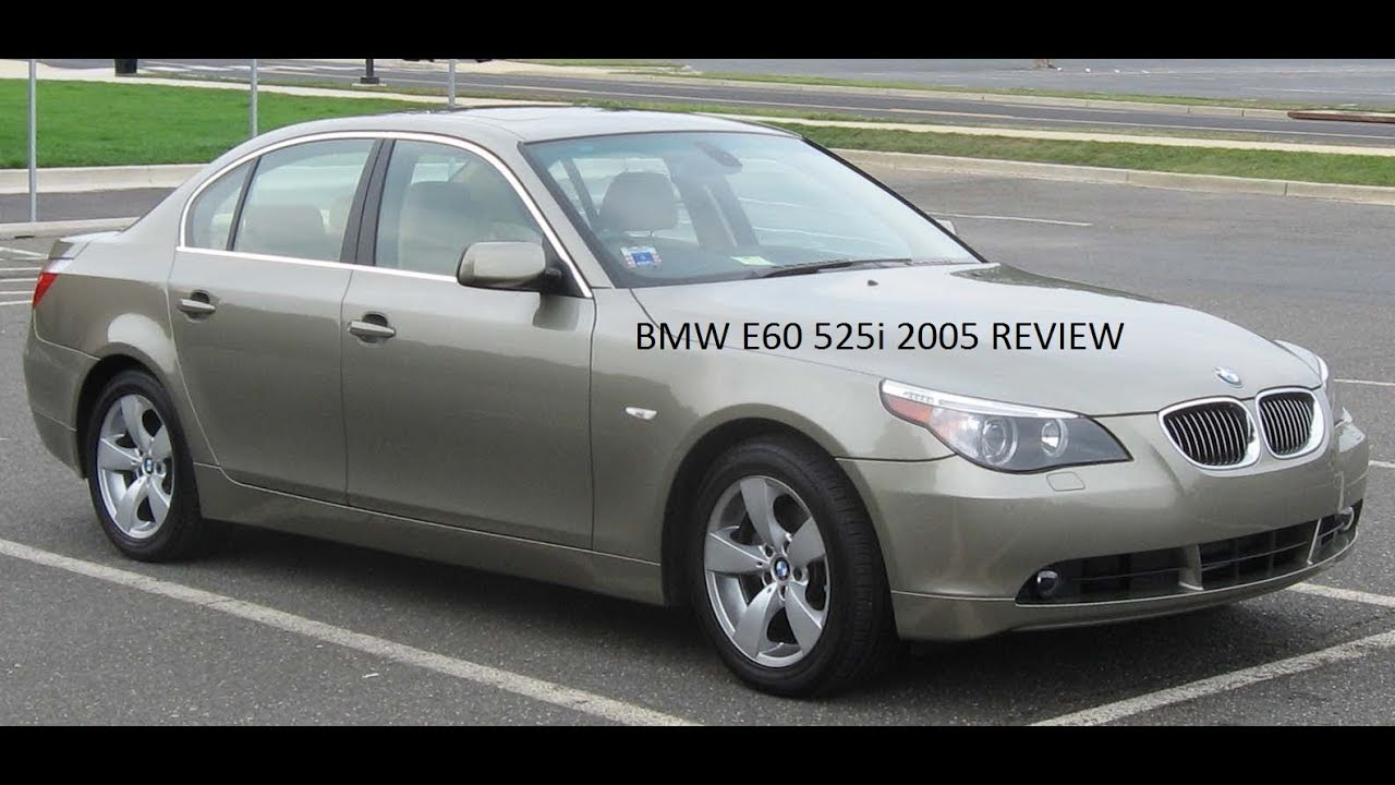 2005 BMW 525i 5 series ReviewRoad TestTest Drive  YouTube
