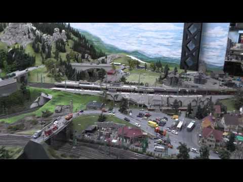 German trains and more,  in Miniatur Wunderland Hamburg, 14-1-14,  part 1 of 2