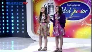 MELISHA PRICILLA & MELITHA PATRICIA - Audition Indonesian Idol Junior