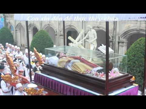 Lễ giỗ cha Giuse Vũ Văn Đại - Giáo xứ Sa Châu  Full HD