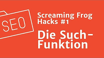 OMCampus: Screaming Frog Hacks - YouTube