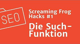 OMCampus: Screaming Frog Hacks
