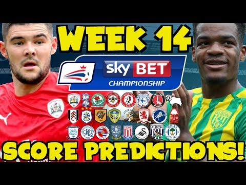 My Championship Week 14 Score Predictions! What Will Happen This Weekend?!