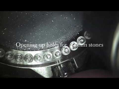 Optic Micro Diamond Setting - Stainless Steel Watch - Full Video