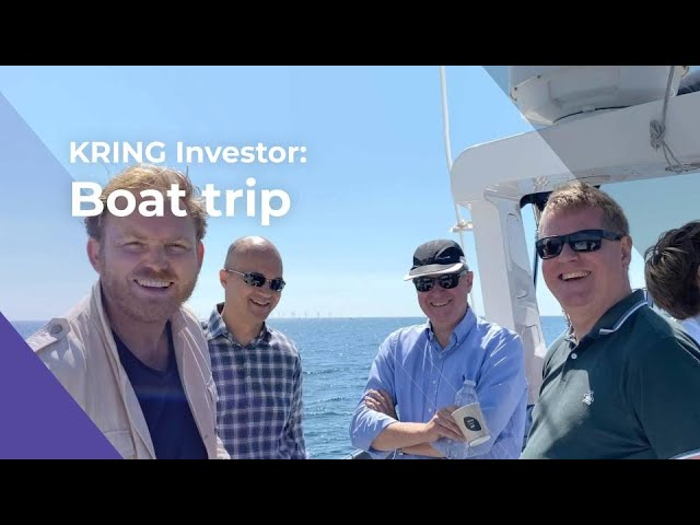 KRING investor boat trip