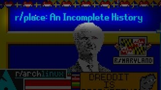 r/place: an Incomplete History