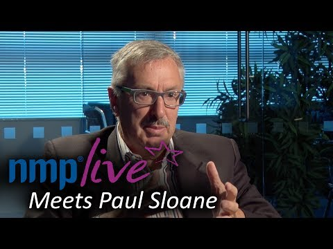 NMP Live Meets Paul Sloane – Lateral Thinking, Creativity and Innovation Expert
