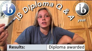 HOW TO GET YOUR IB DIPLOMA