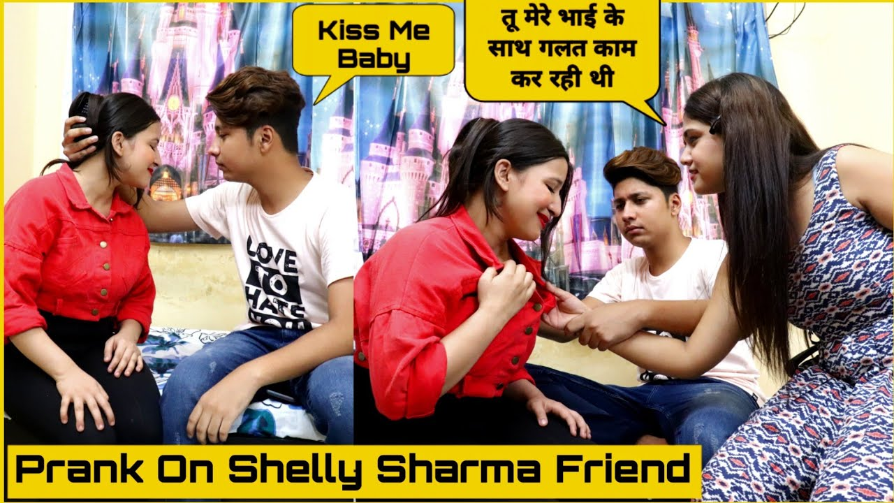 Prank On Shelly Sharma Friend Ft. P4 Prank | Mohit Saini