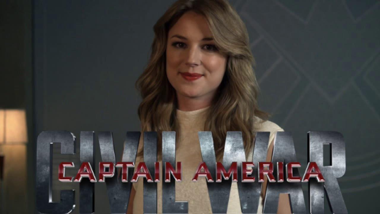 Emily VanCamp (Agent 13) Q&A: Captain America Civil War
