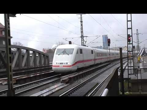 DB ICE - Tren de Alta Velocidad Aleman 401.065 en Berlin Spandau