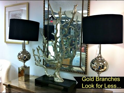 NEW! Look For Less:  Gold Branches COLLAB