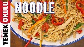 Başlangıç Seviyesindekiler İçin Sıfırdan Noodle Yapımı | Evde Noodle Makarna Tarifi
