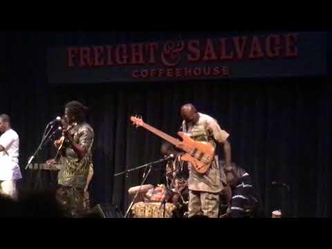 Habib Koite & Bamada, Freight & Salvage, Berkeley, CA, 11/2/17 mp3