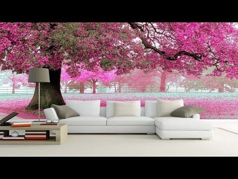 3D Wallpaper For Walls In India | Wallpapers For Living Room Designs | Wallpaper For Bedroom