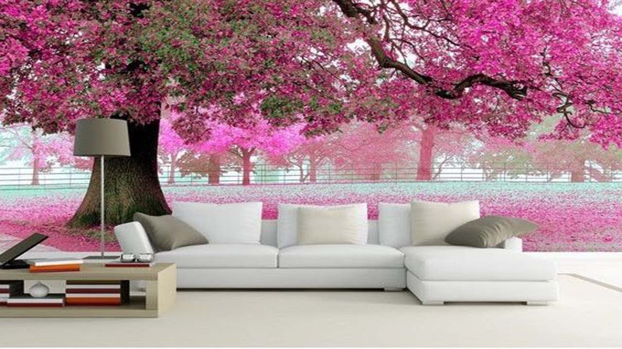 3D Wallpaper For Walls In India | Wallpapers For Living Room Designs | Wallpaper For Bedroom ...
