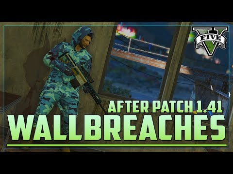 100 Working Wall Breaches All Solo & Easy 1.41 (GTA 5 Online)