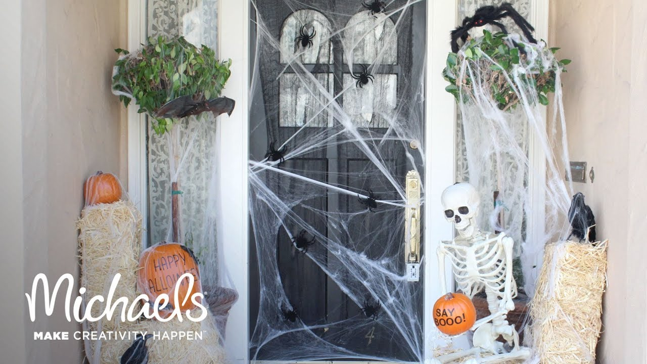 halloween porch decor | darby smart | michaels - youtube