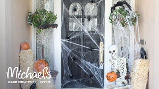 Halloween Porch Decor | Darby Smart | Michaels