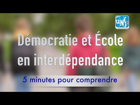 Démocratie et École en interdépendance - François Dubet et Marie Duru-Bellat