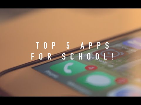My Top 5 Apps for School!