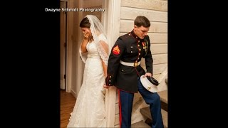 No Peeking at Each Other Before the Wedding Even If You Are a Marine