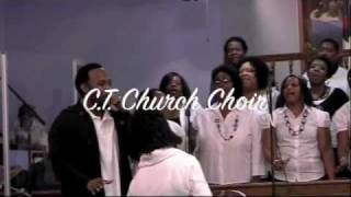 "New Community Temple Choir singing  ""Youthful Praise""Awesome Wonder"