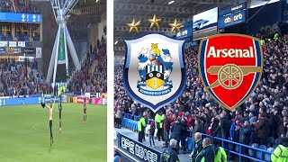 PITCH INVASION AND ARSENAL FANS GO MENTAL!! HUDDERSFIELD TOWN VS ARSENAL VLOG!!