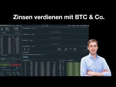 Zinsen Mit Kryptowährungen Verdienen (Margin Funding)✅