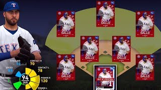 I played the new diamond Joey Gallo at every position