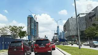 DRIVING IN KUALA LUMPUR - From Jalan Sultan Ismail To IKEA Mytown.