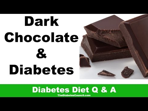 Is Dark Chocolate Good For Diabetes?